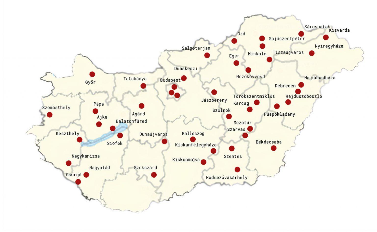 Livingroad térkép